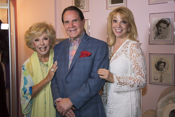 The Iconic Ruta Lee, Rich Little and Johnny Carson's tonight Show colleague, T Photo