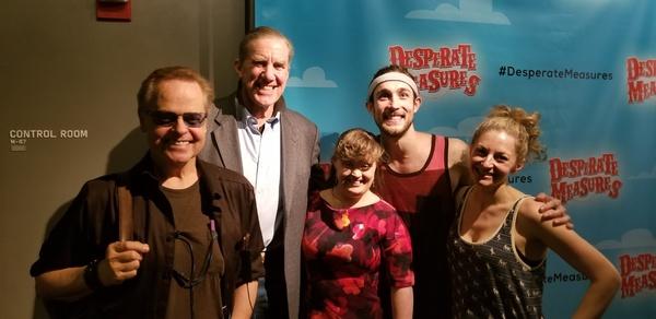 Gary Marachek, Nick Wyman, Jamie Brewer, Conor Ryan and Lauren Molina  Photo