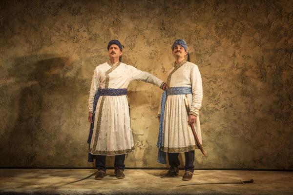 Omar Metwally (Humayun) and Arian Moayed (Babur) Photo