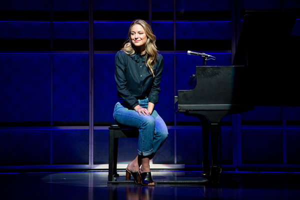 Photo Coverage: Melissa Benoist Gets Ready for Her Broadway Debut in BEAUTIFUL!