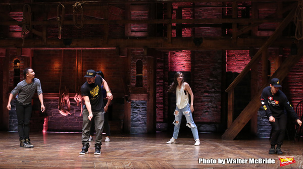 Photo Coverage: HAMILTON Cast Holds a Jamming #EduHAM Session