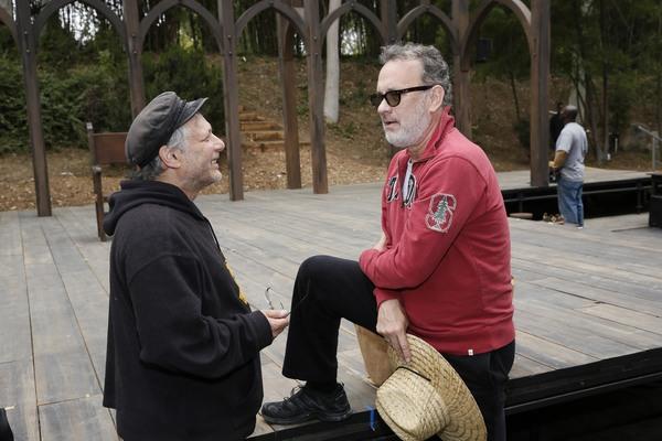 Ben  Donenberg,  Tom  Hanks   Photo