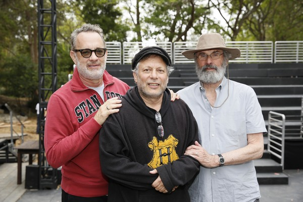 Tom  Hanks,  Ben  Donenberg,  Director  Daniel  Sullivan Photo