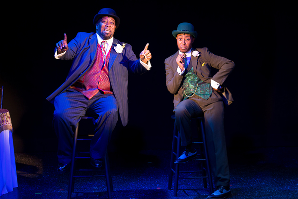 DeMone and Jeffrey Eugene Johnson in AIN'T MISBEHAVIN' The Fats Waller Musical Show playing at Theatre By The Sea thru June 17, 2018. Photos by Steven Richard Photography.
