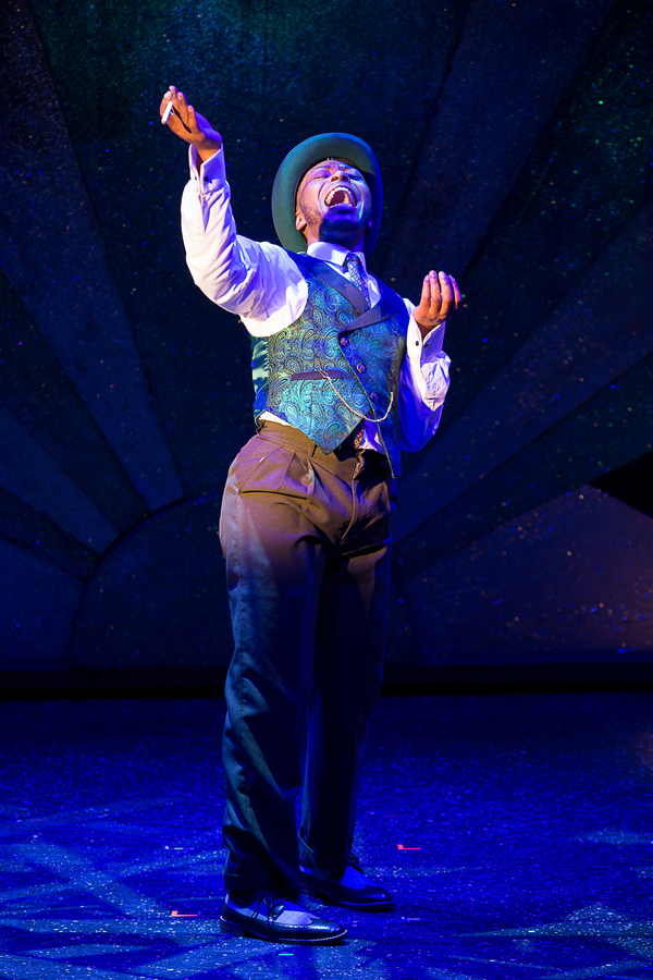 Jeffrey Eugene Johnson in AIN'T MISBEHAVIN' The Fats Waller Musical Show playing at Theatre By The Sea thru June 17, 2018. Photos by Steven Richard Photography.