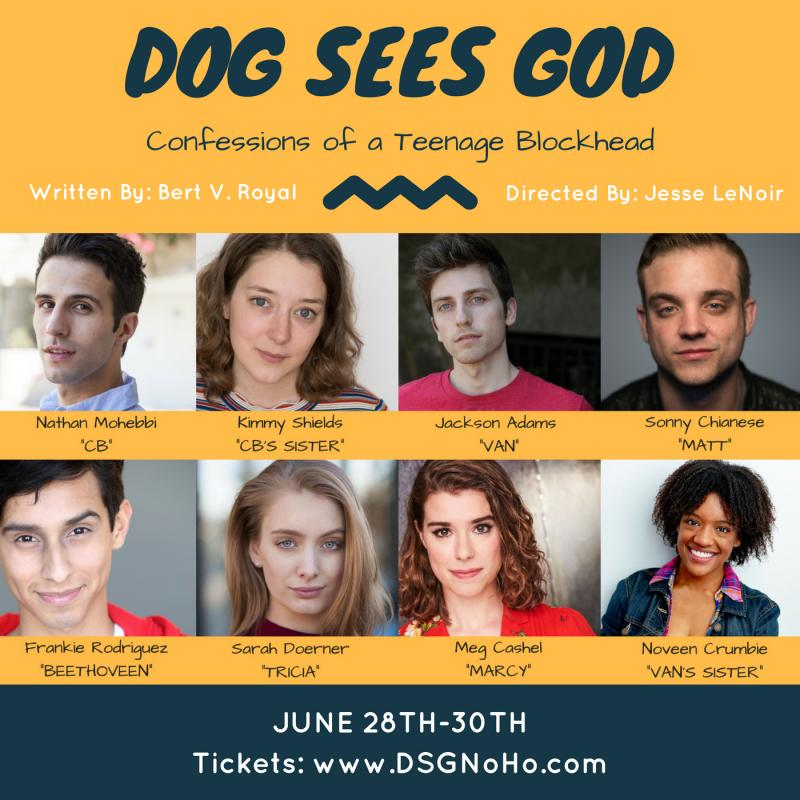 BWW Interview: DOG SEES GOD Director Jesse LeNoir Talks About The Production, Why Simplicity Shouldn't Be Discounted And Why Live Theater Is Still Important