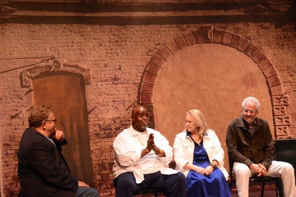 James Morgan, Akin Babatunde , Katherine Owens and Alan Govenar Photo