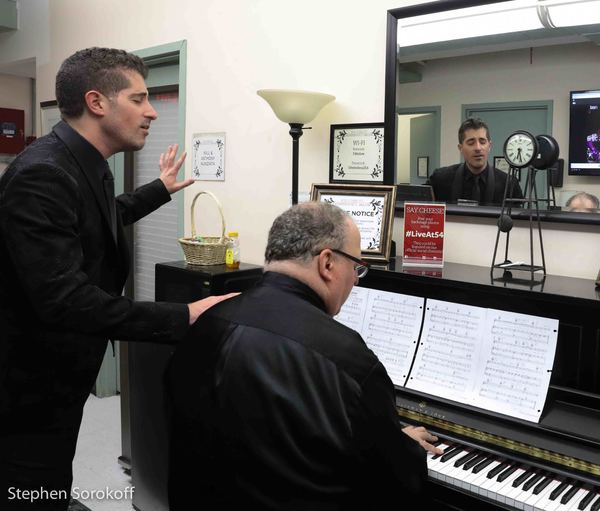 Photo Coverage: Will & Anthony Nunziata play Feinstein's/54 Below