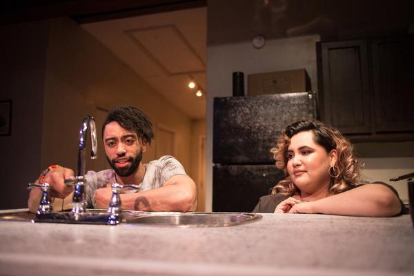 Rashaad Hall and Karen Rodriguez