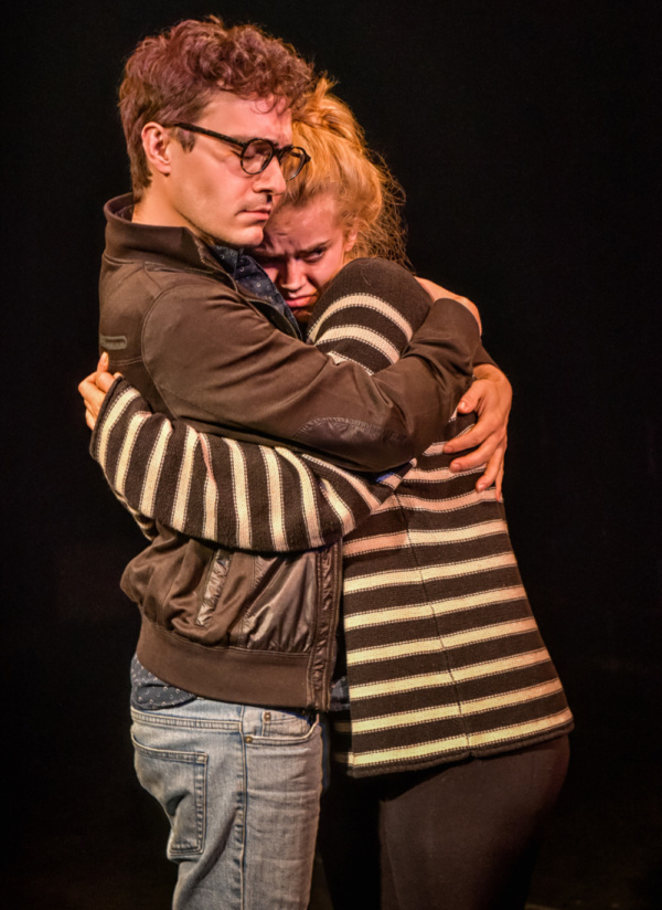 Michael Fell & Ellie Gossage in What Happened That Night. Photo by Clinton B Photogra Photo