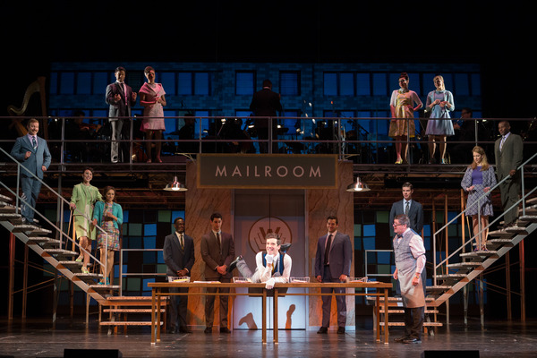 Photo Flash: Wolfe, Astin, Urie and Cast Shine in Kennedy Center's HOW TO SUCCEED IN BUSINESS WITHOUT REALLY TRYING