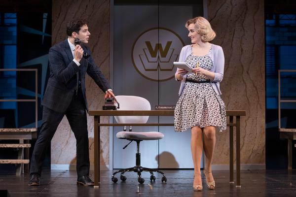 Skylar Astin and Betsy Wolfe