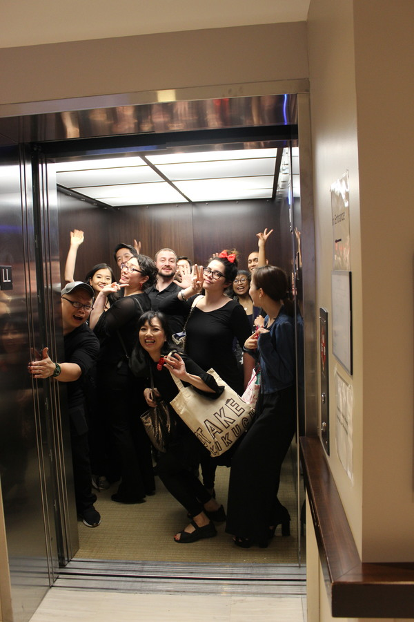 Photos: Tony Recipient Baayork Lee Takes Her NAAP Chorus to the Actors Fund Home