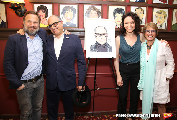 Norbert Leo Butz, David Yazbek, Katrina Lenk and Patti LuPone