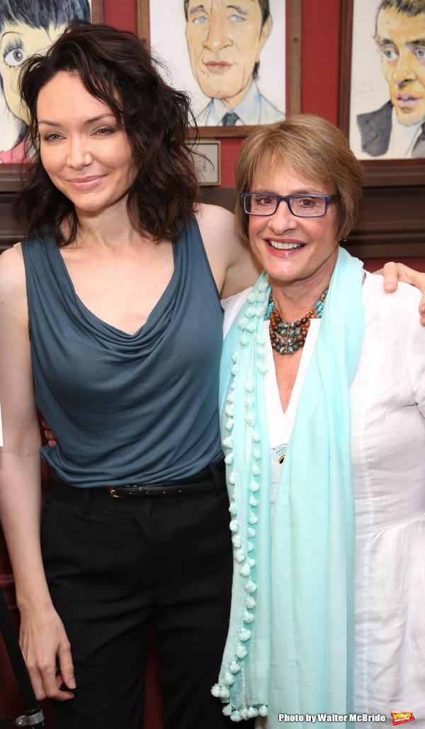 Katrina Lenk and Patti LuPone