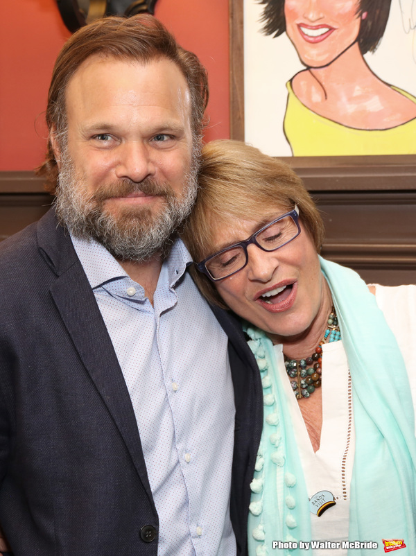 Norbert Leo Butz and Patti LuPone