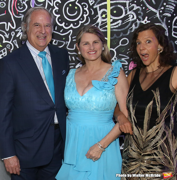 Stewart F. Lane, Bonnie Comley and Chashama Founder Anita Durst