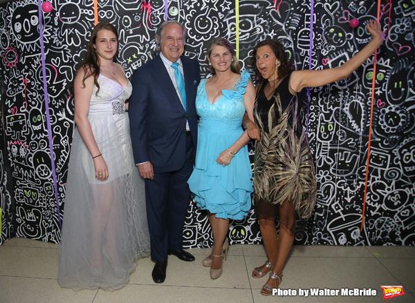 Leah Lane, Stewart F. Lane, Bonnie Comley and Chashama Founder Anita Durst