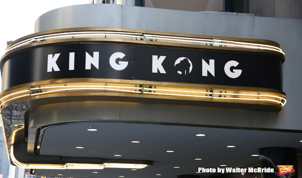Up on the Marquee: KING KONG arrives on Broadway!