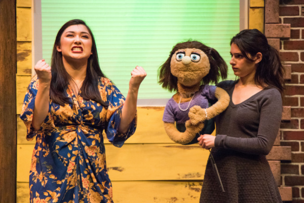 Emily Bailey and Emilie Rose Danno in Avenue Q at Metropolis Photo