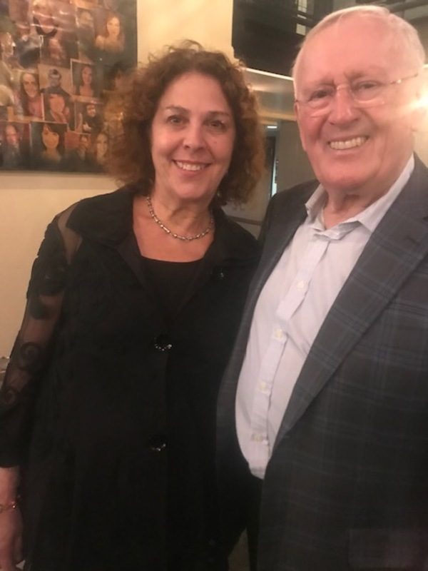 Len Cariou with Donna Trinkoff