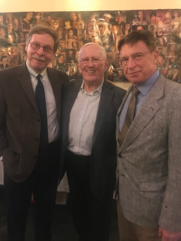Len Cariou with Barry Kleinbort and Mark Janas