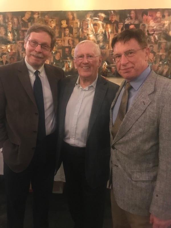 Len Cariou with Barry Kleinbort and Mark Janas