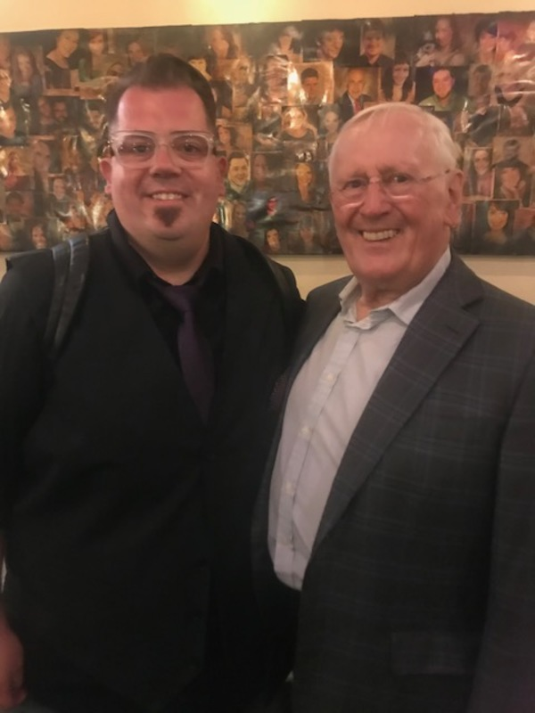 Josh Iacovelli and Len Cariou Photo