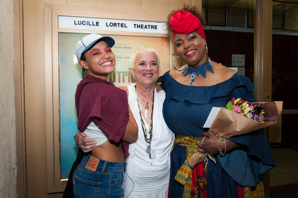 Kiersey Clemons; Eve Ensler, Liz Mikel;  Photo