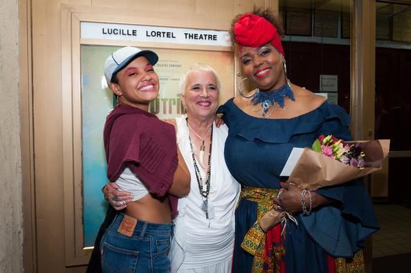 Kiersey Clemons; Eve Ensler, Liz Mikel;