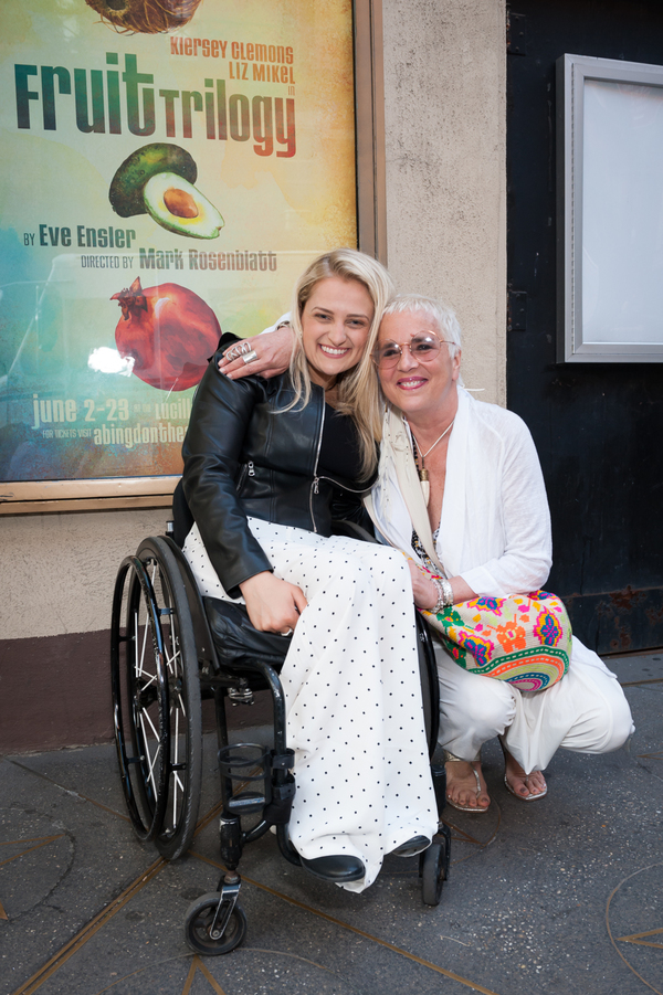 Ali Stroker and Eve Ensler Photo