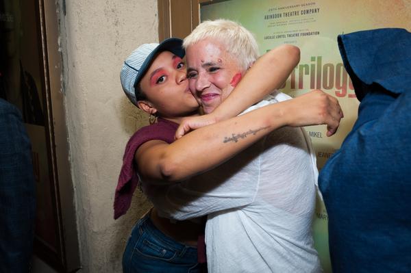 Kiersey Clemons; Eve Ensler;