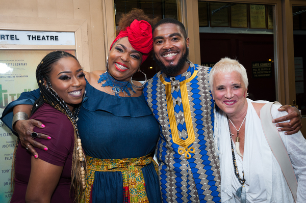 Vershae Mikel; Liz Mikel; Cody Renard Richard; Eve Ensler;  Photo
