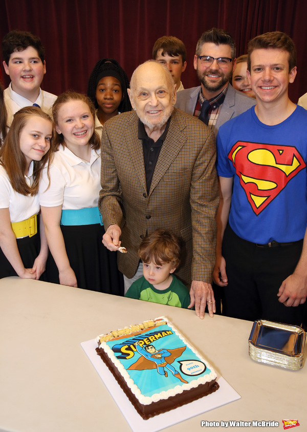Photo Coverage: Charles Strouse Celebrates His Birthday at Children's Theatre of Cincinnati's Reading of IT'S A BIRD...IT'S A PLANE, IT'S SUPERMAN