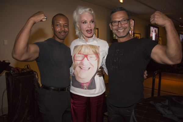 Dwayne Arthur Jones, Julie Newmar and Michael Hernandez