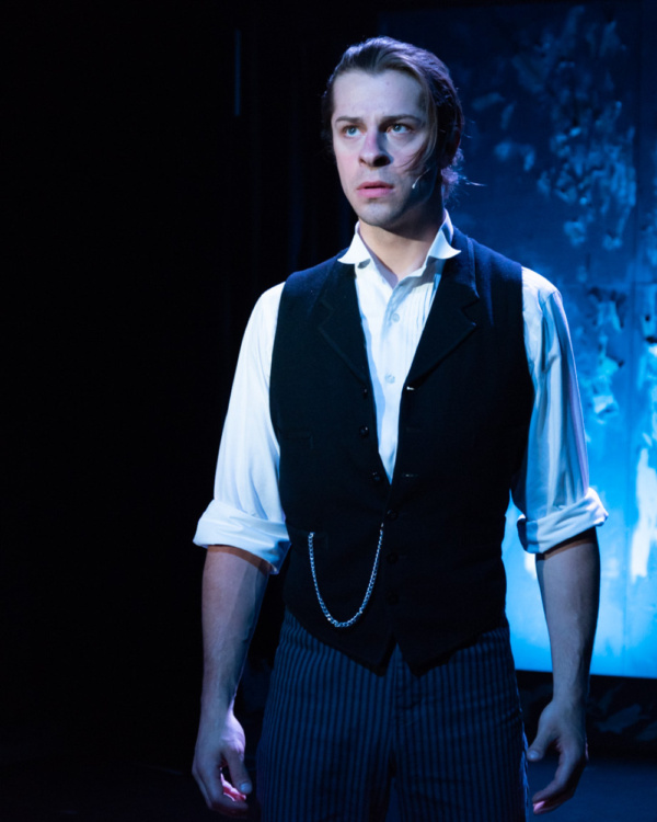James Hunsaker as Harry Jekyll in Young Dr. Jekyll the Musical. Proctors' and Mills Entertainment, Producers in conjunction with New York Stage Originals. Book by Lisa Hopkins, Philip David Stern and