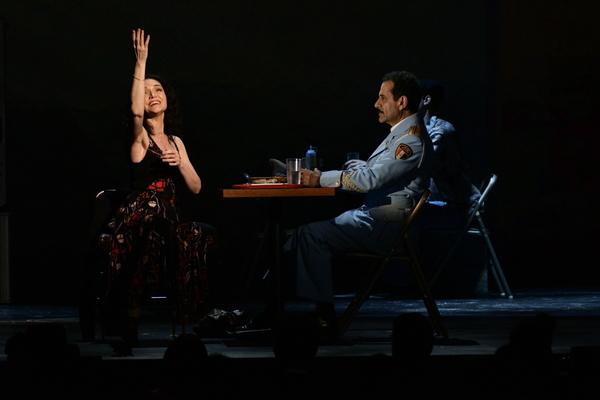 Katrina Lenk & Tony Shalhoub Photo