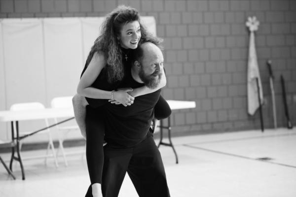 Photo Flash: In Rehearsal with Throughline Theatre's UBU ROI