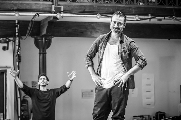 Photo Flash: In Rehearsal with THE JUNGLE; Full Cast Announced