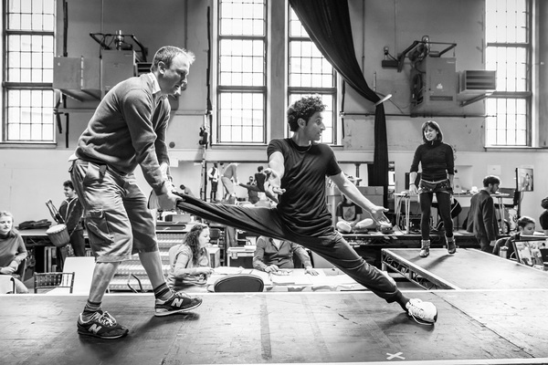 Photos: In Rehearsal with THE JUNGLE; Full Cast Announced