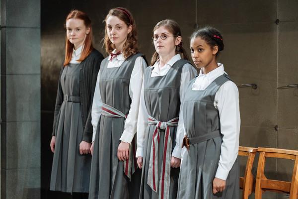 Rona Morison (Sandy), Helena Wilson (Jenny), Emma Hindle (Mary) and Grace Saif (Monic Photo
