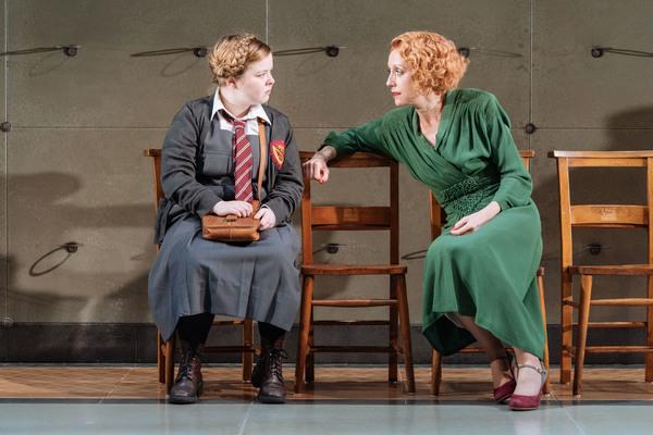 Nicola Coughlan (Joyce Emily) and Lia Williams (Jean Brodie) Photo
