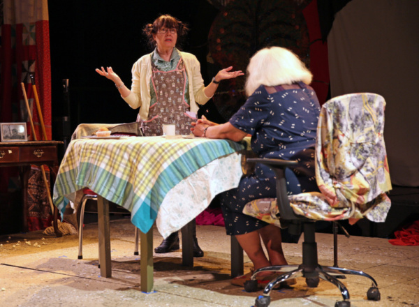 Photo Flash: Theater Legends Premiere FEAR OF OATMEAL
