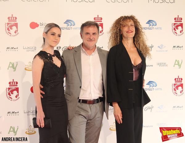 Lydia Fairén, Xavi Mira y Carmen Conesa