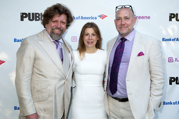 Patrick Willingham, Arielle Tepper Madover, Oskar Eustis Photo