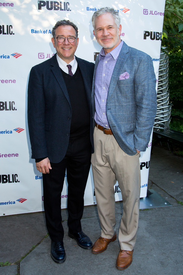 Michael Greif, Gerald McCullouch Photo