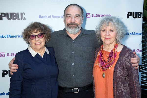 Rosemarie Tichler, Mandy Patinkin, Kathryn Grody Photo