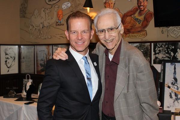Christian Hoff and Joe Long Photo