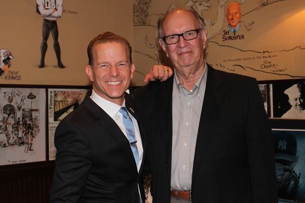 Christian Hoff and Tom Austin