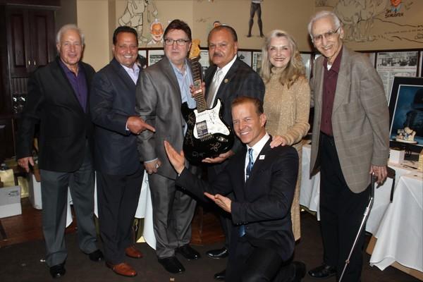 Anthony Ierulli, Joseph Cilento,  Tony Newell, William Lazaro, Wynonia Lazaro, Christ Photo
